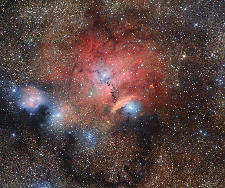 Астрономы сфотографировали «звездные ясли»