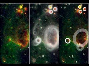 В Млечном Пути найдены космические пузыри