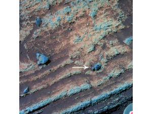 Древнее извержение вулкана на Марсе указывает на былую влажность атмосферы