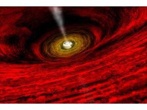 Гигантские чёрные дыры подавляют рождение новых звёзд