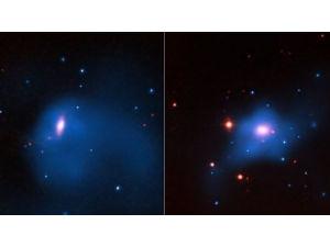 Аномальный рост чёрных дыр указал на их связь с тёмной материей