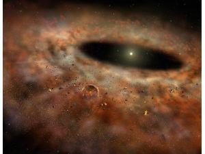 Пояс пыли, окружающий звезду, просто исчез!