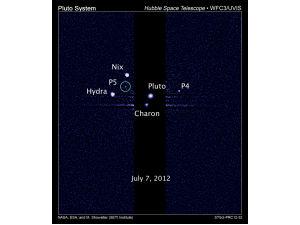 Открыт пятый спутник Плутона