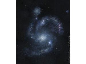 Обнаружена самая древняя спиральная галактика во Вселенной