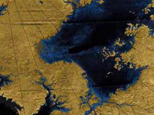 Реки Титана ставят учёных в тупик