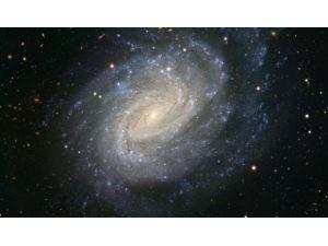 Во внешне спокойной галактике происходили бурные события