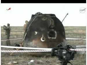 Капсула «Союз» с командой МКС успешно совершила посадку
