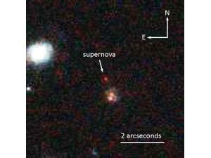 Астрономы обнаружили самую далёкую «стандартную свечу»