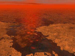 В морях Титана плавают льдины, говорится в новом исследовании