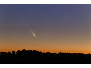 Яркая комета устроит ослепительное шоу на ночном небе в этом месяце
