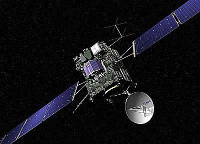 В понедельник прозвенит будильник для космического аппарата Rosetta