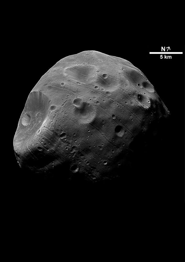 Фобос может быть астероидом, пойманным гравитацией Марса