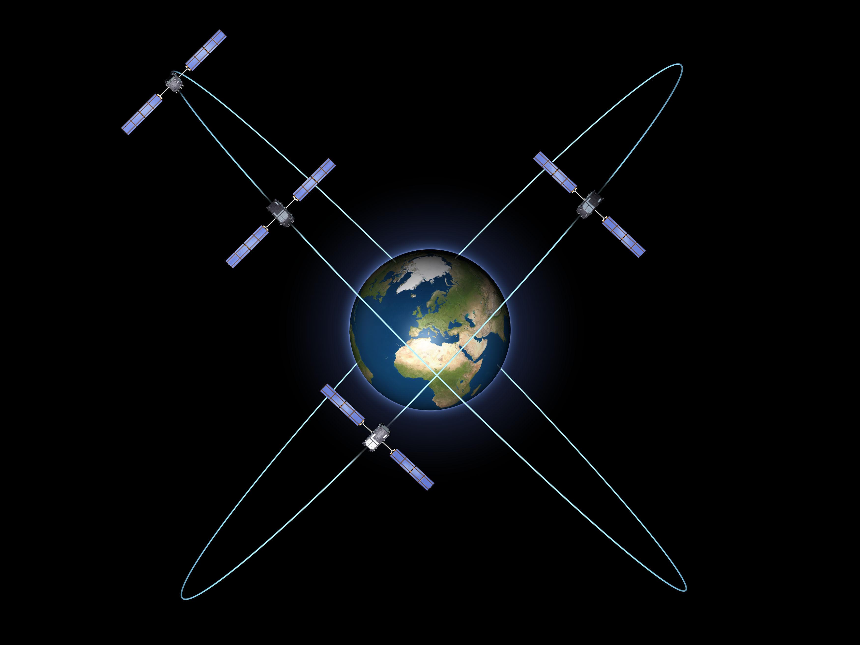 Система спутников Galileo успешно прошла испытания на орбите