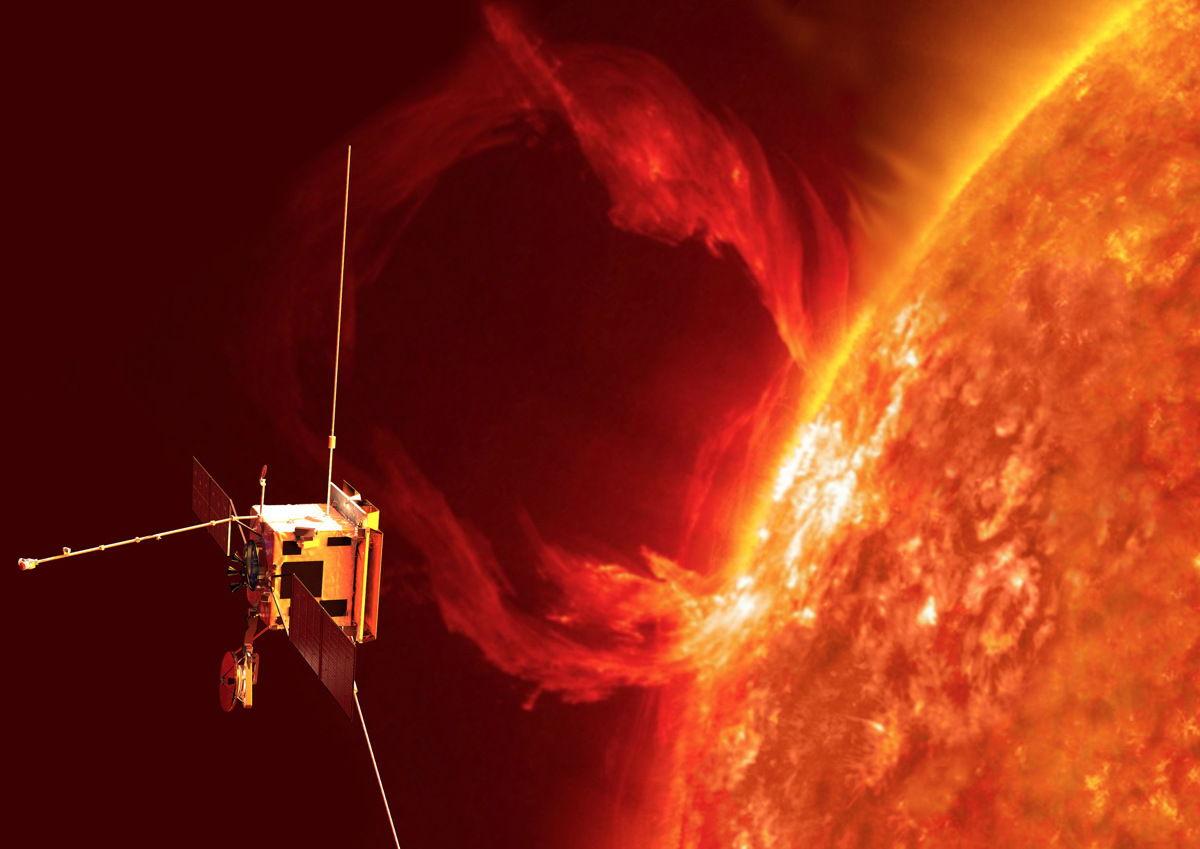 Доисторическая краска будет защищать орбитальный зонд от солнечного излучения