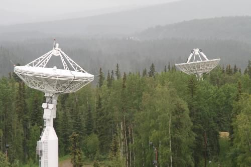 Moon  Alien antenna dish and massive TOWERS 2