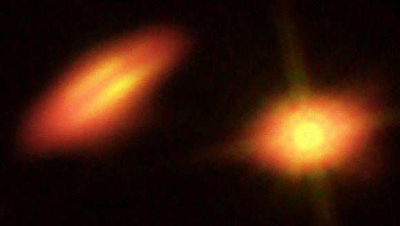 Странные протопланетные диски наблюдает ALMA