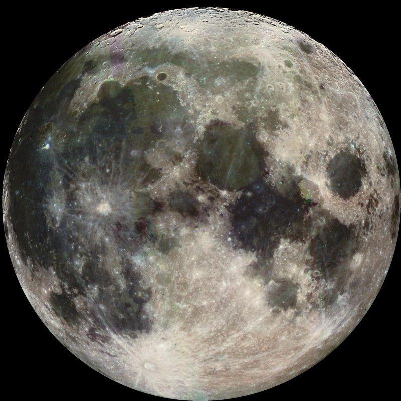 На Луне могут быть найдены древние ископаемые