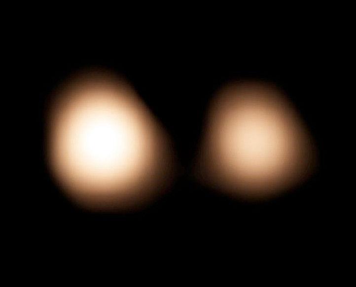 Траекторию полета New Horizons помог рассчитать телескоп ALMA