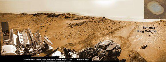 В четвертый раз Curiosity будет бурить красную планету (2 фото)