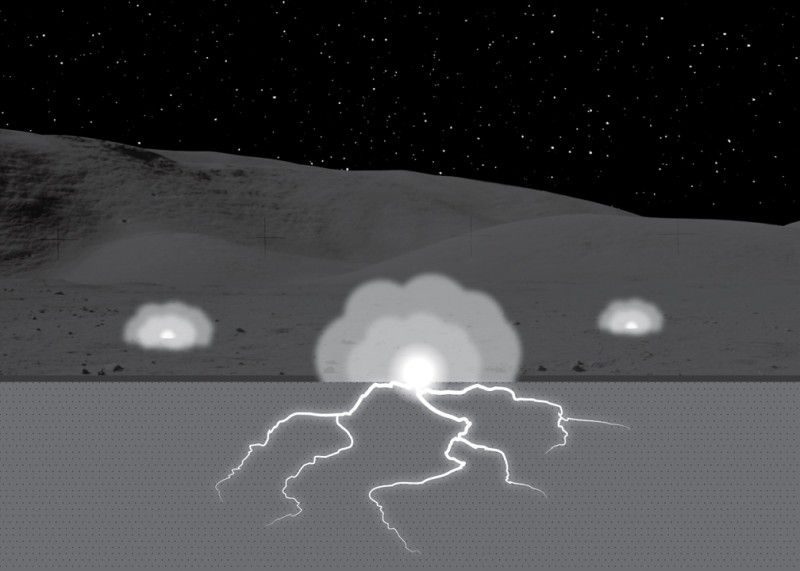 На эволюцию лунной почвы могли повлиять электрические разряды