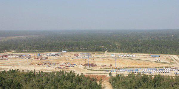 Космодром Восточный  будет построен к намеченному сроку (2 фото)