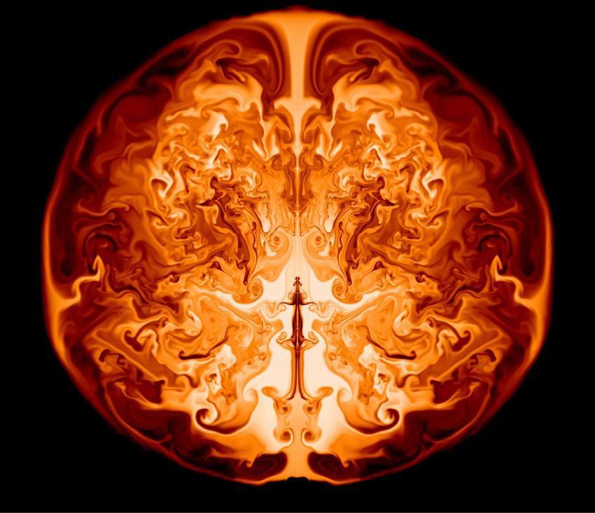 Необычный способ смерти древнейших звезд выявлен с помощью симуляций