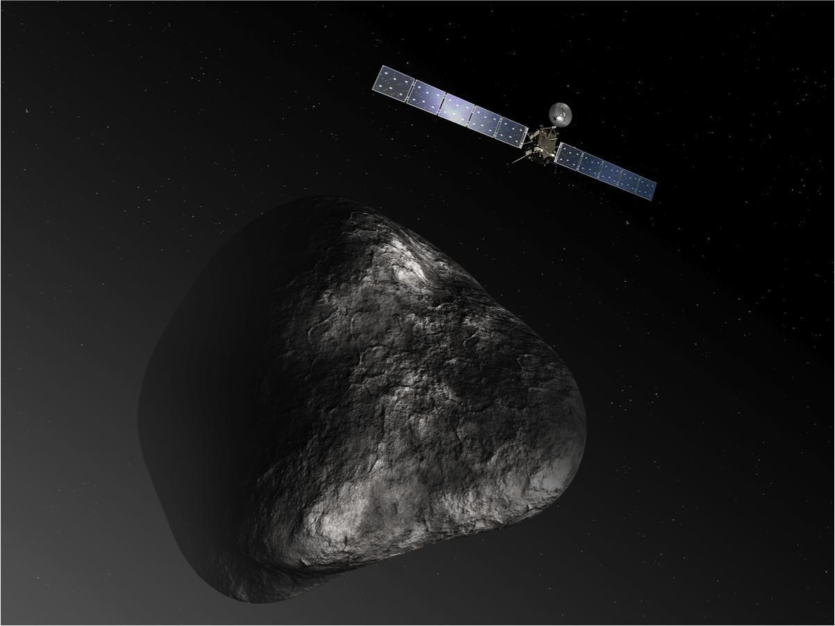 Гонка со временем на комете