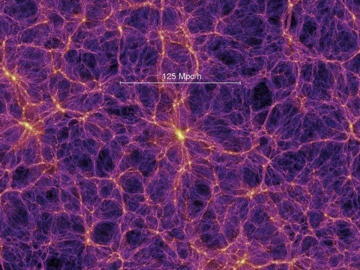 Что влияет на эволюцию галактик, находящихся в космической паутине (3 фото)