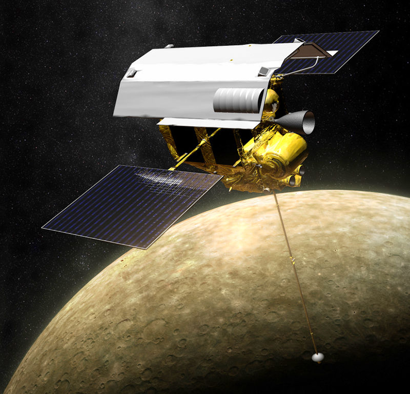 messenger spacecraft to mercury 2009 picture - 800×768