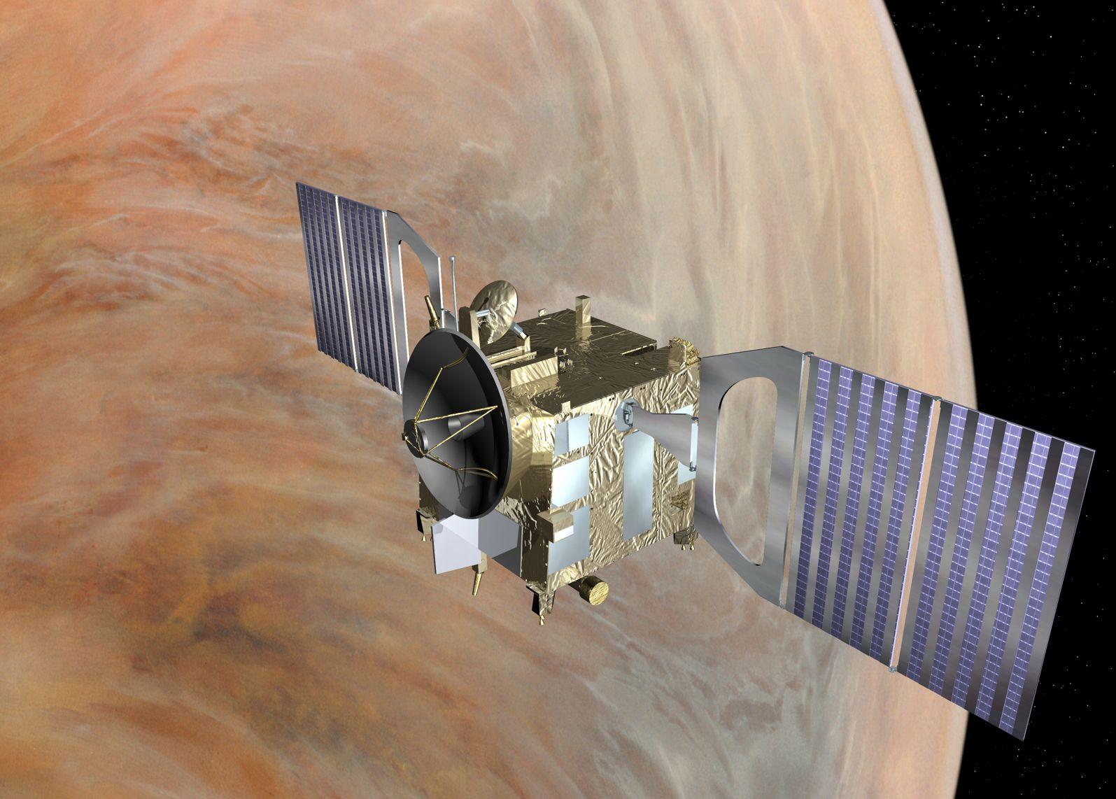 У Venus Express закончилось топливо (3 фото)