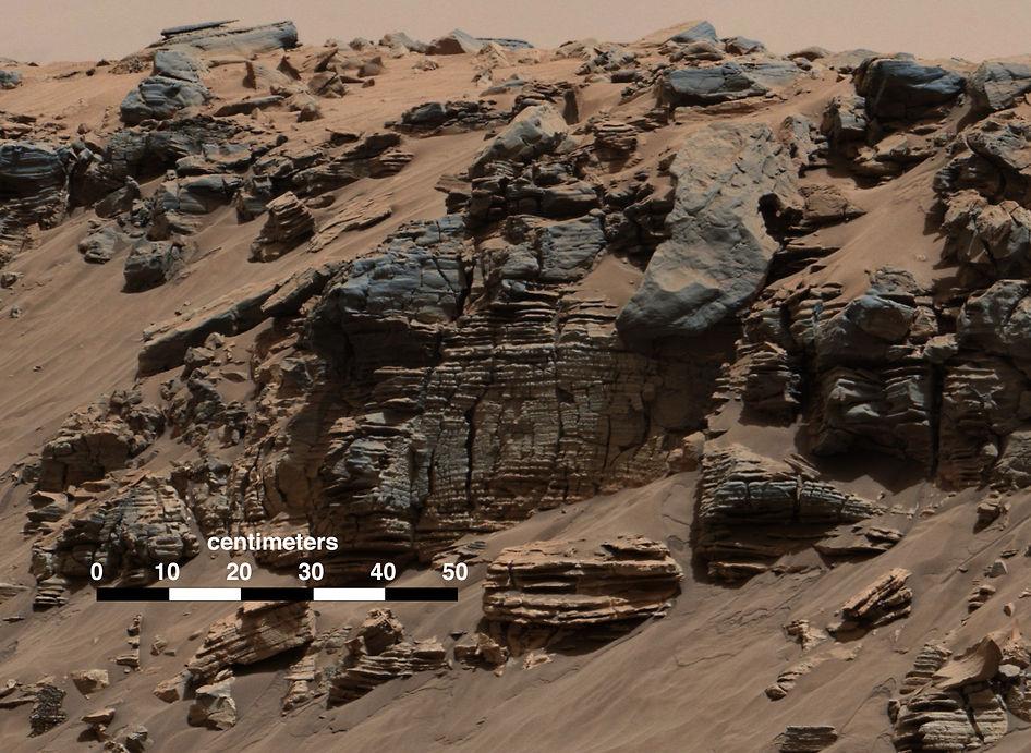 Марсианская Мокрая гора