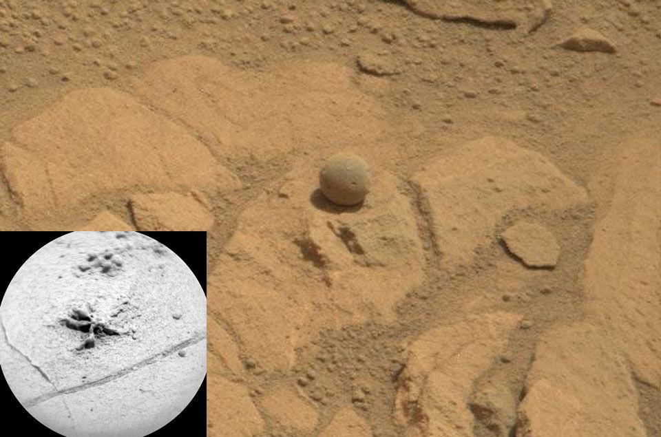 Марсоходу предстоит бурение кратера Мохаве (2 фото)