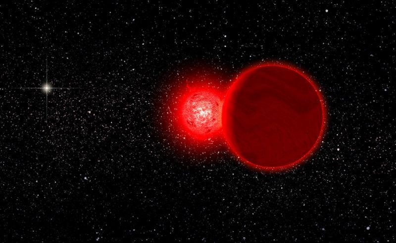 Астрономы выяснили, что звезда Шульца проходила через облако Оорта
