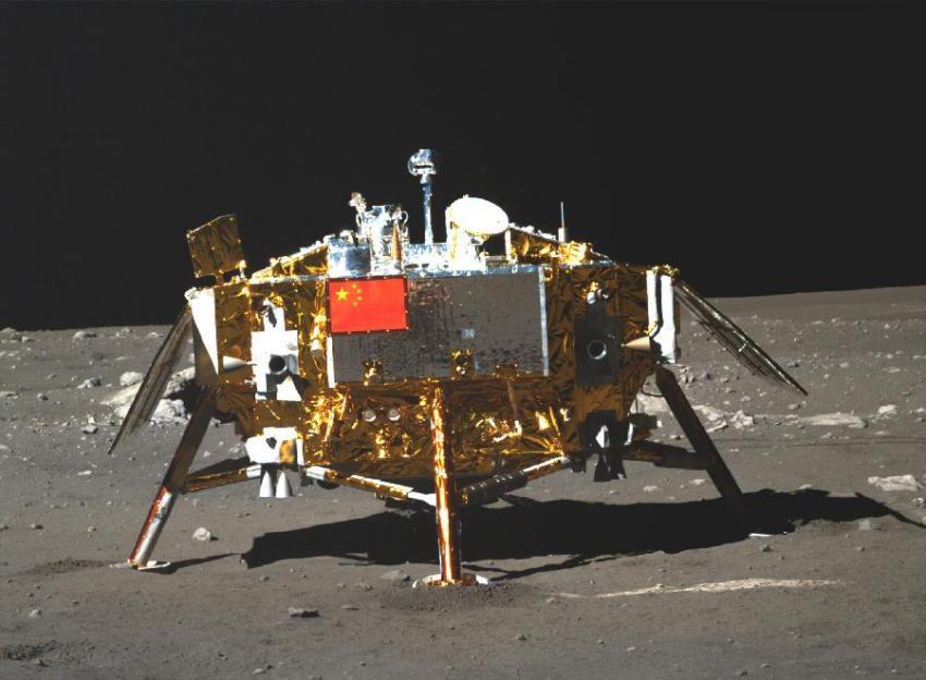 Понять географию Луны помогает китайский луноход