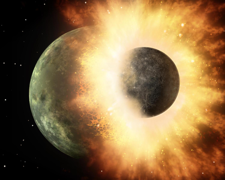 Камни рассказали о секретах образования Луны (2 фото)