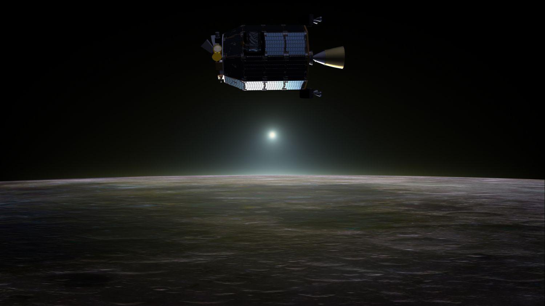На Луне нашли неон