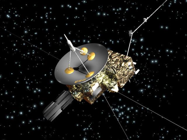 Частицы пыли Млечного пути, летящие сквозь Солнечную систему