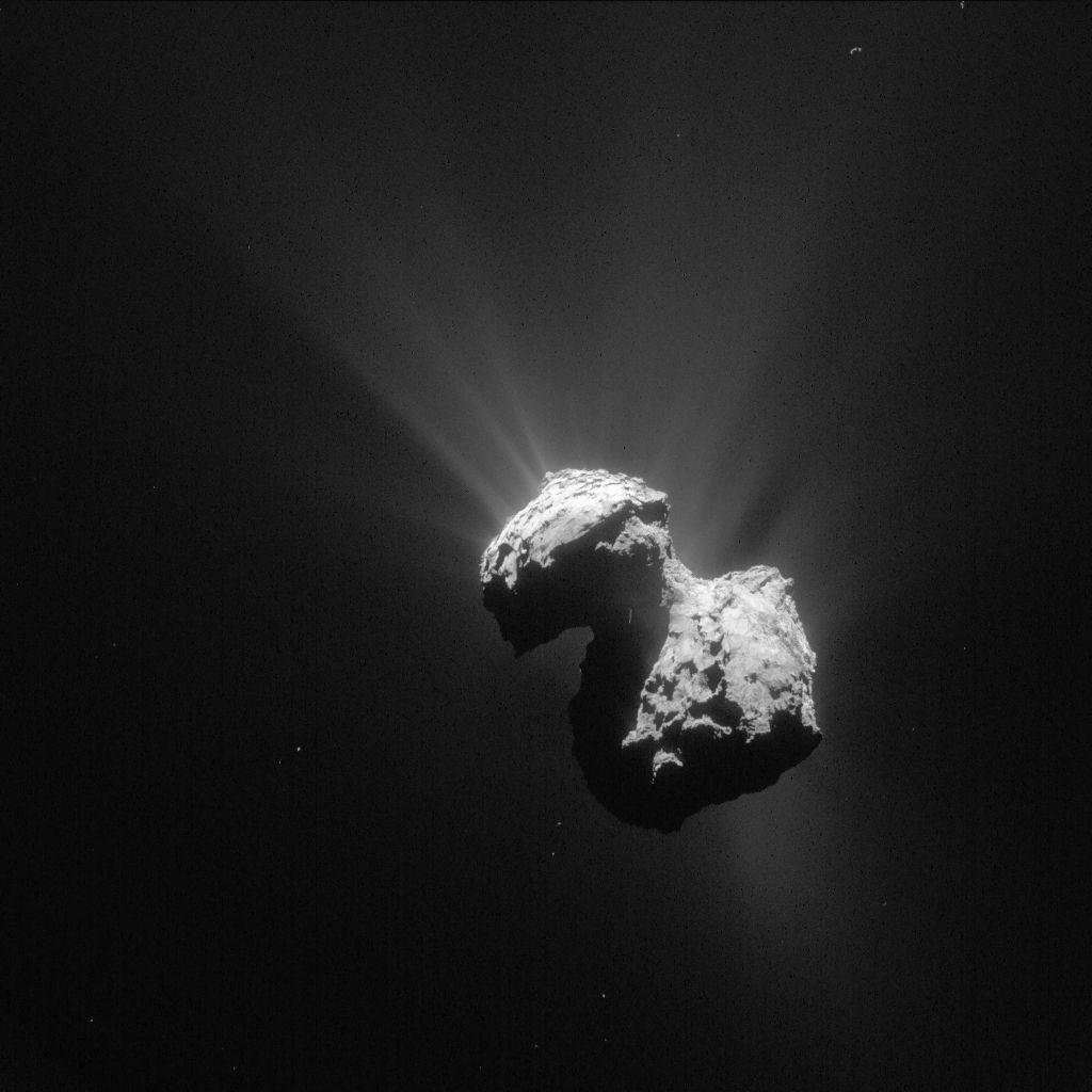 Зонд «Розетта» находит молекулярный кислород в составе вещества кометы 67P