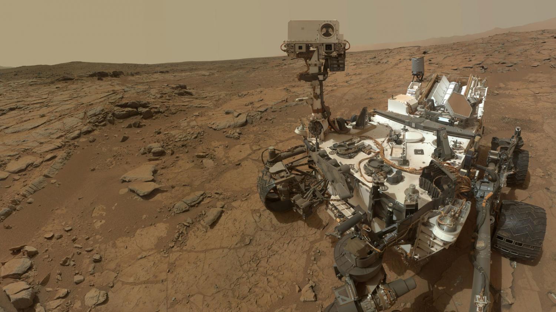 Марсоход Curiosity обнаружил соединения азота на Марсе