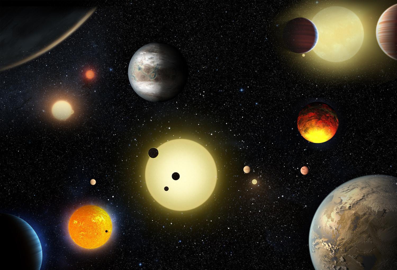 NASA открыло девять потенциально обитаемых экзопланет