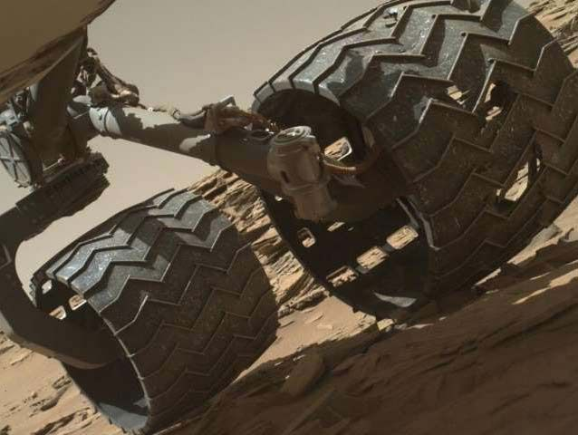 НАСА: марсоход Curiosity нашел «неожиданный» минерал наМарсе