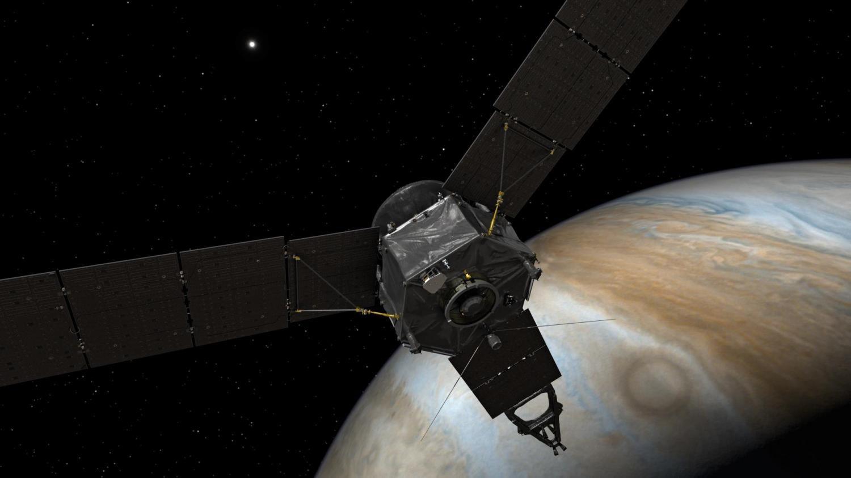 Межпланетная станция «Юнона» вскором времени выйдет наорбиту Юпитера