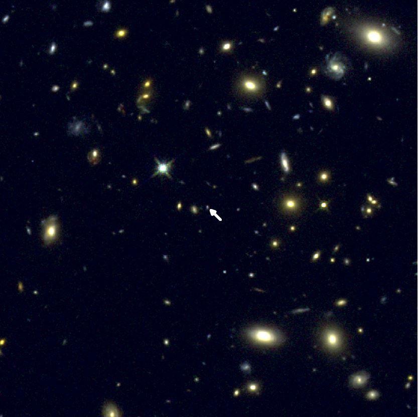 Астрономы впервый раз измерили кислород вдалекой галактике