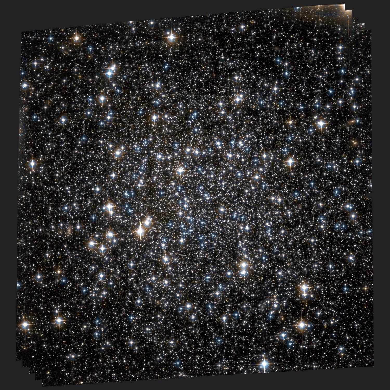 Ученые выявили скопление звезд смножеством темных дыр