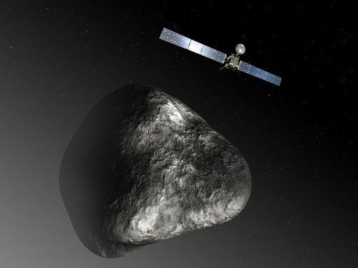 Сегодня аппарат Rosetta разобьют окомету Чурюмова-Герасименко