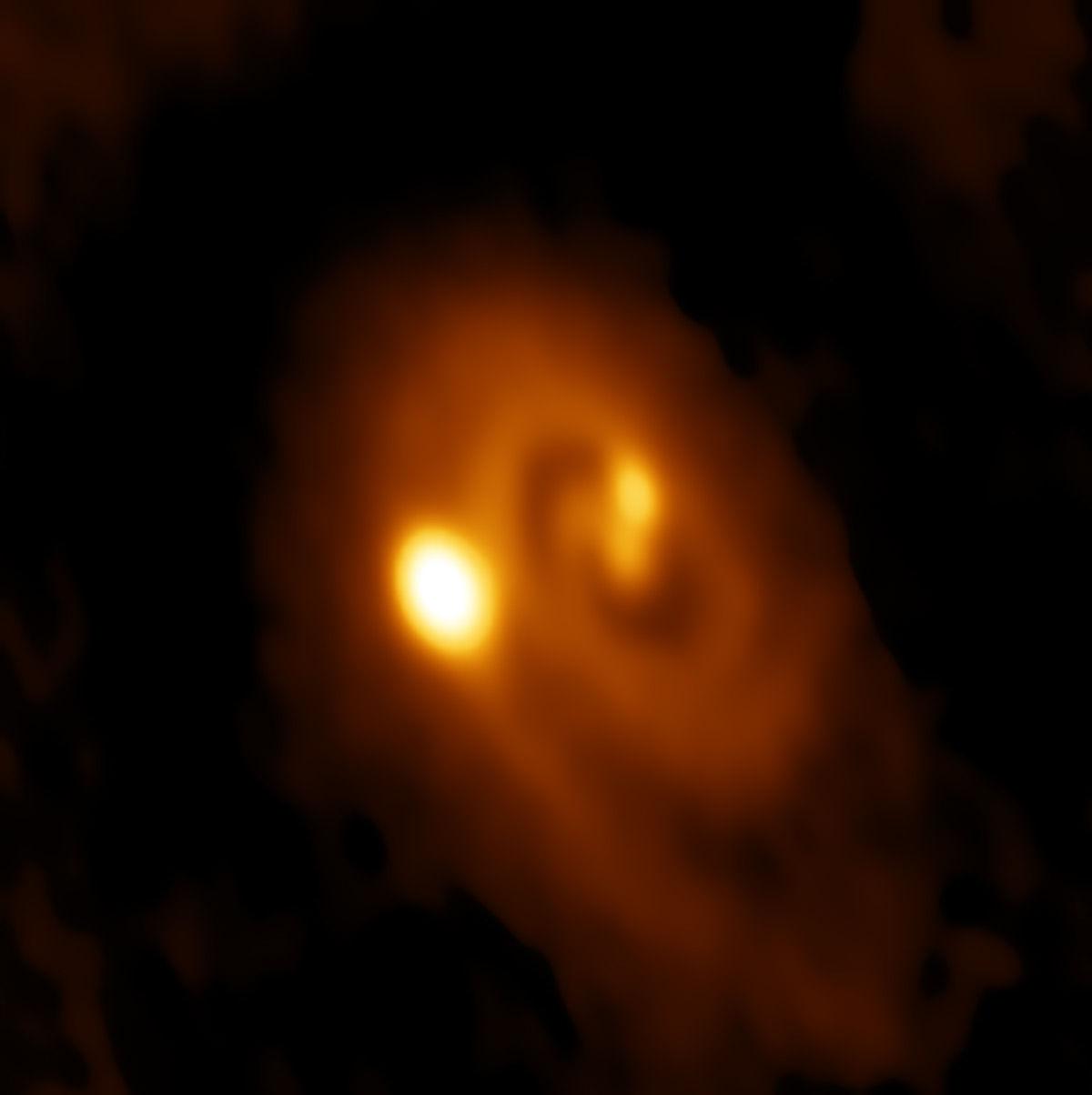 Астрономы открыли таинственную звездную систему