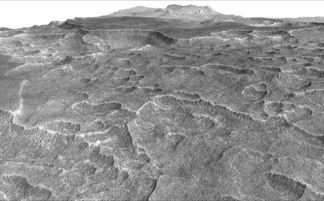 Учёные NASA обнаружили наМарсе огромное замёрзшее озеро