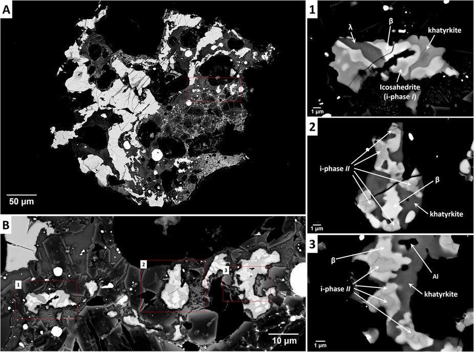 Ученые обнаружили вчукотском метеорите таинственный кристалл