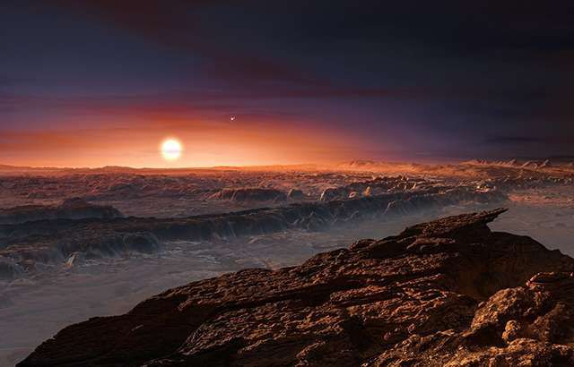 Вспышки звезды могут убить ближайшую экзопланету Проксима b