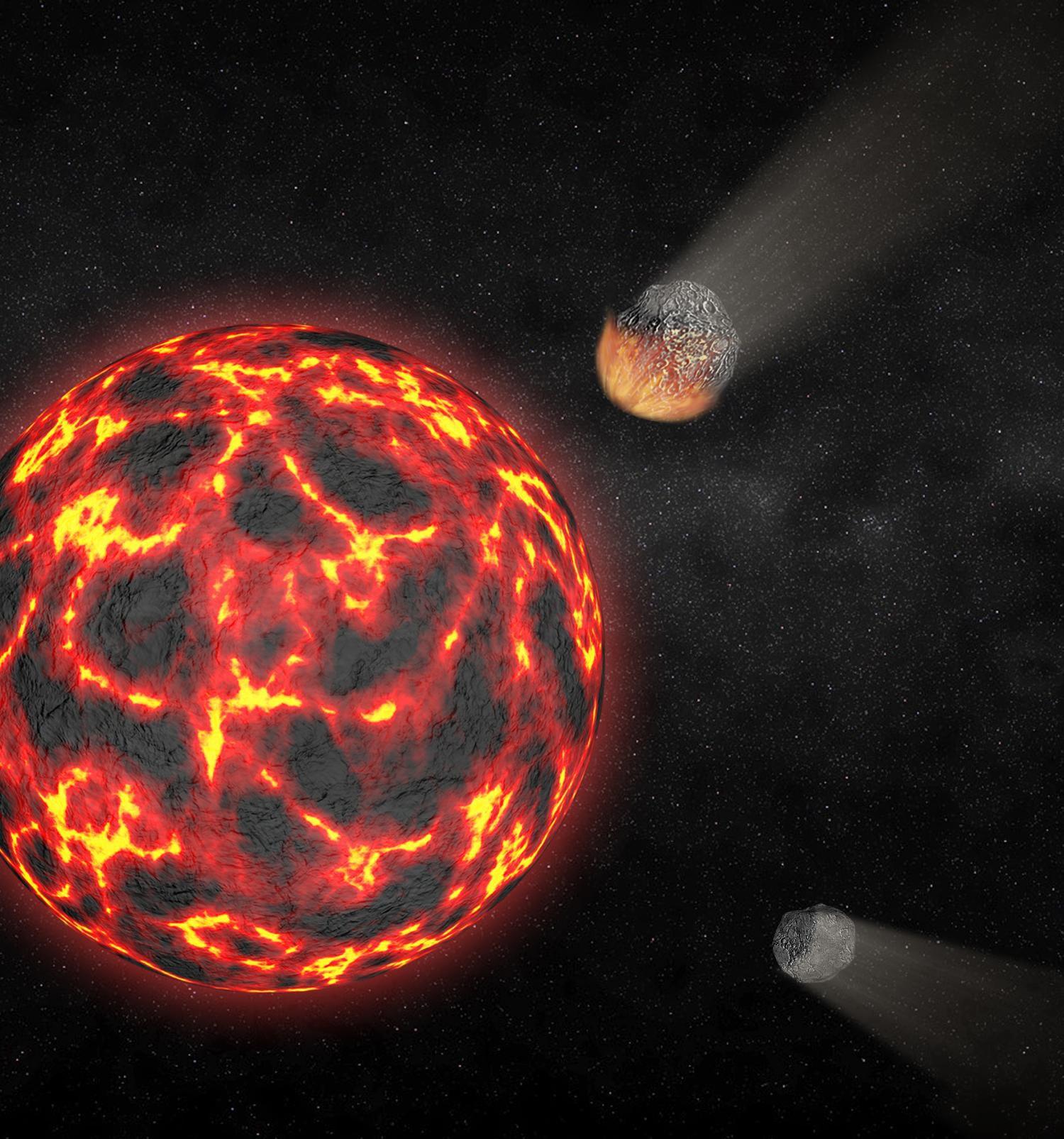 «Инопланетное» вещество Луны открывает таинственное прошедшее спутника Земли